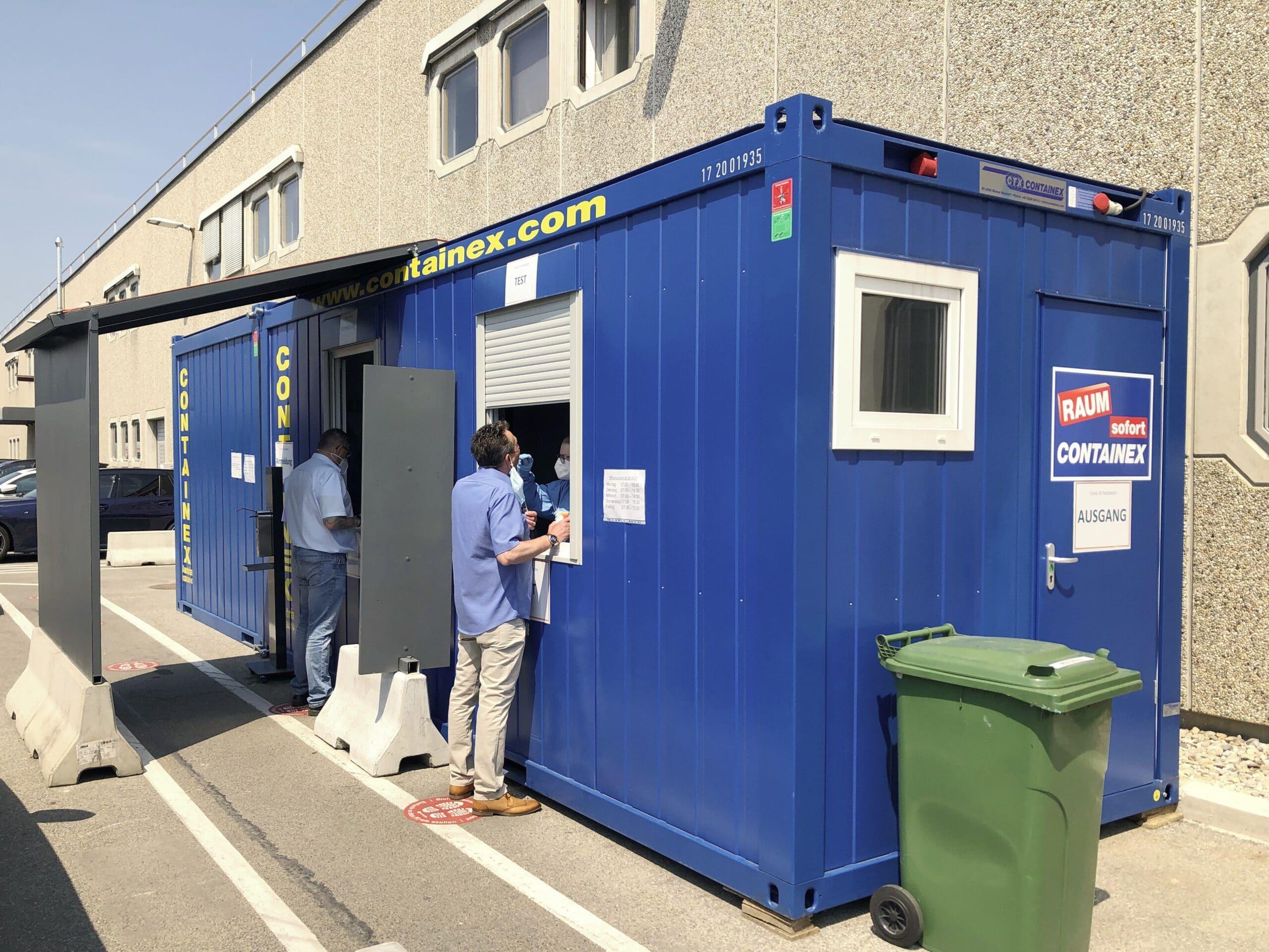 Containertestung
